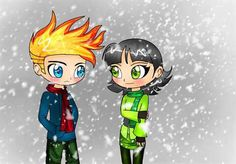 Johnny Test and Buttercup