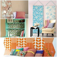 16 besten tapeten bilder auf pinterest dekoration tapeten und diy ideen. Black Bedroom Furniture Sets. Home Design Ideas