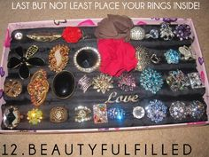 I should make this so all my rings are in one place