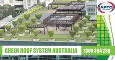 APTC are industry leaders in the supply and installation of Green Roof Systems in Melbourne. Green Roofing is rapidly becoming a sought after solution to provide environmentally friendly areas within our cities in Australia. Green Roof System, Roofing Systems, Rooftop Garden, Melbourne, Australia, City, Cities