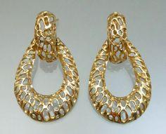 Fine Estate Jewelry Earrings 14K Gold by LoriBilodeauAntiques