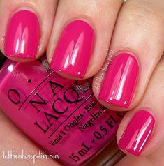 O.P.I Pink Flamenco. Good spring/summer color for toes! Nail Design, Nail Art, Nail Salon, Irvine, Newport Beach