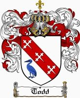 Todd Coat of Arms / Todd Family Crest gifts at www.4crests.com