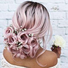 Pretty Hairstyles, Girl Hairstyles, Braided Hairstyles, Wedding Hairstyles, Hairstyle Ideas, Fashion Hairstyles, Style Hairstyle, Updo Hairstyle, Wedding Updo