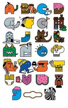 Alphabet Keychain designs
