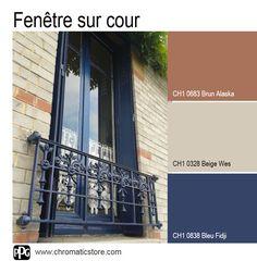 Une palette de #teintes classique et #intemporelle pour l'intérieur et de caractère pour l'extérieur. www.chromaticstore.com