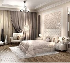 Master bedroom design ideas - You must understand what for you to do by using a room before you begin any design work. The climate of the room can range from calm and artistic to subdued and traditional. Trendy Bedroom, Bedroom Interior, Bedroom Makeover, Bedroom Design, Master Bedrooms Decor, Bedroom Decor, Home Decor, House Interior, Luxury Bedroom Master