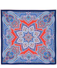 Paisley Star Silk Scarf | Liberty London