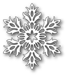 Welcome to Poppystamps 1592 Laurette Snowflake craft die Snowflake Template, Snowflake Craft, Snowflake Decorations, Paper Snowflakes, Christmas Snowflakes, Christmas Crafts, Christmas Decorations, Christmas Ornaments, Snowflakes