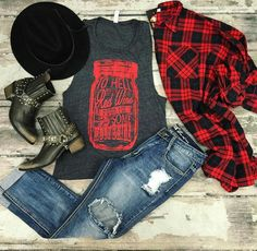 I like all but the boots and hat.