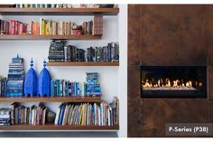 Floating Shelving nice! Canadian Heating Products / Montigo - Residential Gallery