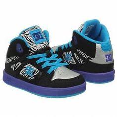 DC Shoes Girls Rebound Hightop BNIB Various Sizes | eBay