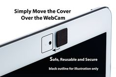 Amazon.com: WebCam Cover Solid Black 3 Pack: Computers & Accessories