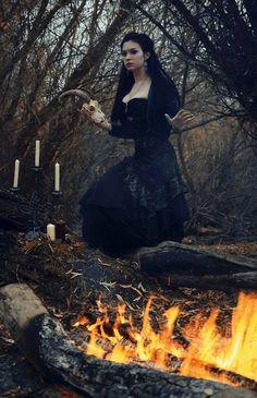 Witch Witchcraft Pagan Priestess Goddess Worship Magick