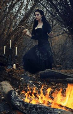 Witch Witchcraft Pagan Priestess Goddess Worship Wicca Magick