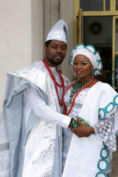 The culture is absolutely beautiful! African Wedding Attire, African Attire, African Wear, African Dress, African Men Fashion, African Fashion Dresses, African Beauty, African Outfits, Nigerian Traditional Wedding