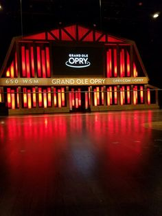 Grand Ole opry  Nashville TN