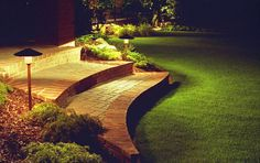 Garden lighting not only make the house look attractive but they also increase the value of the property. Apart from beautifi