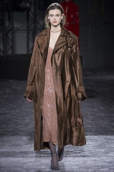 Nina Ricci Fall 2016 Ready-to-Wear Fashion Show--Coat is ok would rather see more of that dress.