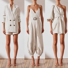 The ultimate tran-seasonal linen. Which is your favourite St Martin look? Classy Outfits, Chic Outfits, Summer Outfits, Look Fashion, Womens Fashion, Fashion Trends, Fashion Tips, Mode Outfits, Minimal Fashion