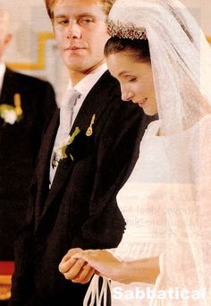 Miss Honoria Glossop:  Wedding of Clotilde Courau to Prince Emanuele Filiberto of Savoy, September 25, 2003; the bride was six months pregnant and gave birth to the couple's eldest daughter Princess Vittoria of Savoy on December 29, 2003