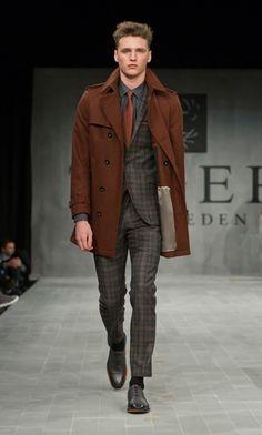 Mercedes Benz Fashion Week Stockholm Tiger of Sweden Fall/Winter #tigerofsweden #fashionweek #stylecrave
