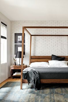 Add personality and style to your bedroom with Room & Board's collection of modern bedroom furniture and accessories.