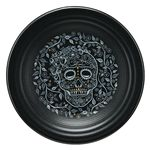 "Fiesta® Dinnerware Skull & Vine 9"" Luncheon Plate made by Homer Laughlin China Company @fiestafactorydirect.com | Fiesta Dinnerware"