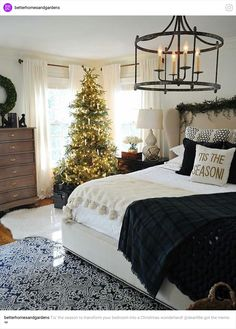 Christmas bedrooms and more