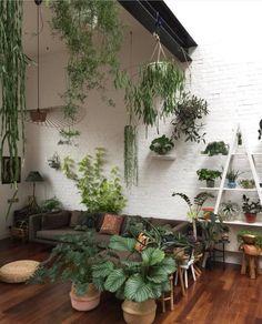 Impressionante como a decoração com verde fica perfeita e faz bem!