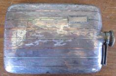 Vintage E A M 14k Gold Sterling Pocket Liquor Flask | eBay Flasks, Liquor, Barrel, Pocket, Gold, Ebay, Vintage, Alcohol, Barrel Roll