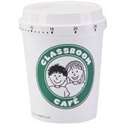 Really Good Coffee cup timers...goes perfectly with the star*bucks/ CAFE theme!