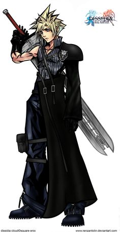 Cloud Strife's hair reminds me of Roxas or Sora from kingdom hearts II                                                                                                                                                                                 もっと見る