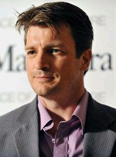 Nathan Fillion....he is just so cute