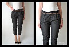 Na léto se hodí mít v šatníku alespoň jedny plátěné kalhoty. Co třeba tyto nové šedé kalhoty od značky Bershka? :) Více kalhot najdeš na http://bit.ly/1iorqMl  Hezký čtvrtek ti přeje BEMOVE