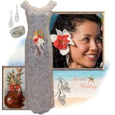 """""""Hawaiian Happiness"""" by sposare-wedding on Polyvore"""