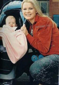 Kerry McFadden and baby Molly