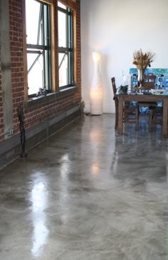 16 best residential interior floors images on pinterest flooring industrial flooring loft stained floors solutioingenieria Images