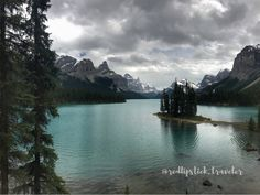 Spirit Island, Maligne Lake, Jasper National Park, Canadian Rockies, AB, Canada
