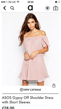 Mink gypsy dress asos