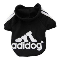 Zehui Pet Dog Cat Sweater Puppy T Shirt Warm Hoodies Coat Clothes Apparel Black S * You can find more details by visiting the image link.