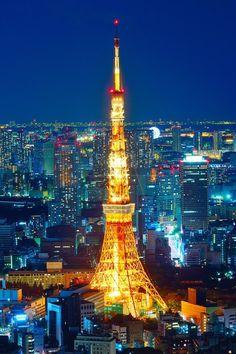 Tokyo Tower, Japan. | PicsVisit