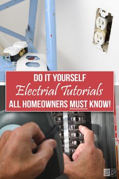 home repairs,home maintenance,home remodeling,home renovation Home Renovation, Home Improvement Projects, Home Projects, Weekend Projects, Do It Yourself Home, Improve Yourself, Diy Design, Design Ideas, Home Electrical Wiring