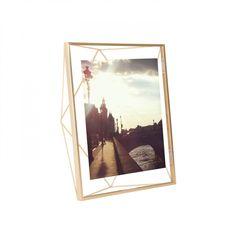 prisma frame 8x10 matte brass