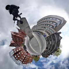 a technique called stereographic projection