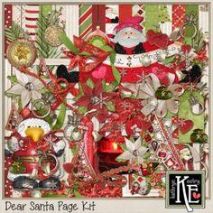 Dear Santa Page Kit