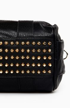Stud Base Duffel Bag in Black One Size | DAILYLOOK
