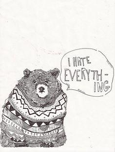 the bear of truth. @Hannah Sieff