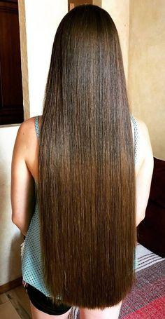 Shop Rabake Hair Brazilian Straight Human Hair 3 Bundles With Closure Brazilian Virgin Hair Straight With Closure Long Hair Trim, Long Brown Hair, Hairdo For Long Hair, Waist Length Hair, Really Long Hair, Gorgeous Hair, Beautiful, Mode Vintage, Hair Lengths