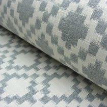 Diamon Black & Cream Reversible Fabric.